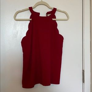 Red scallop tank